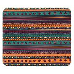 Ethnic Style Tribal Patterns Graphics Vector Double Sided Flano Blanket (Small)