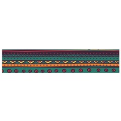 Ethnic Style Tribal Patterns Graphics Vector Flano Scarf (small)