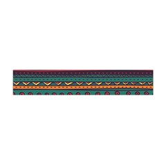 Ethnic Style Tribal Patterns Graphics Vector Flano Scarf (mini)