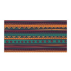 Ethnic Style Tribal Patterns Graphics Vector Satin Wrap