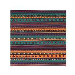 Ethnic Style Tribal Patterns Graphics Vector Small Satin Scarf (square)