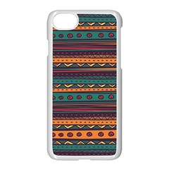Ethnic Style Tribal Patterns Graphics Vector Apple Iphone 7 Seamless Case (white)