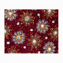 India Traditional Fabric Small Glasses Cloth (2 Side)