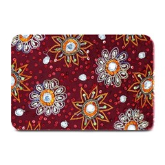 India Traditional Fabric Plate Mats