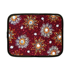 India Traditional Fabric Netbook Case (small)