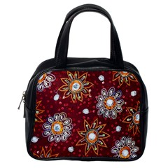 India Traditional Fabric Classic Handbags (one Side)