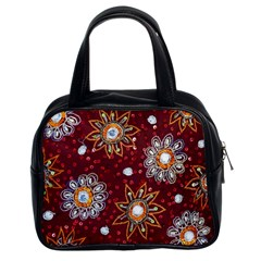 India Traditional Fabric Classic Handbags (2 Sides)