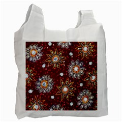 India Traditional Fabric Recycle Bag (one Side)