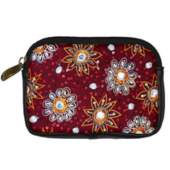 India Traditional Fabric Digital Camera Cases