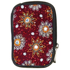India Traditional Fabric Compact Camera Cases