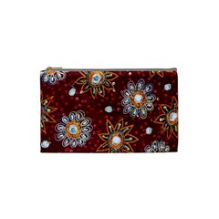 India Traditional Fabric Cosmetic Bag (small)