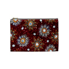 India Traditional Fabric Cosmetic Bag (medium)