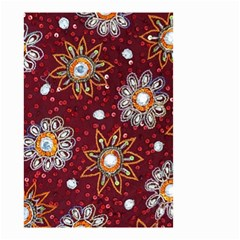 India Traditional Fabric Small Garden Flag (Two Sides)