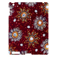 India Traditional Fabric Apple Ipad 3/4 Hardshell Case