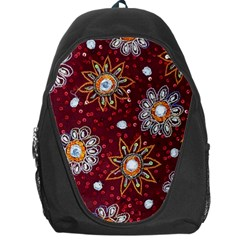 India Traditional Fabric Backpack Bag