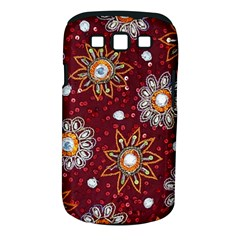India Traditional Fabric Samsung Galaxy S Iii Classic Hardshell Case (pc+silicone)