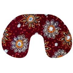 India Traditional Fabric Travel Neck Pillows