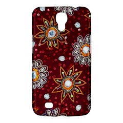 India Traditional Fabric Samsung Galaxy Mega 6 3  I9200 Hardshell Case