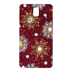 India Traditional Fabric Samsung Galaxy Note 3 N9005 Hardshell Back Case