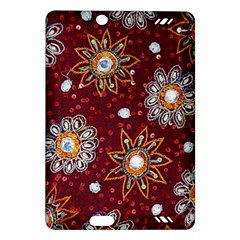 India Traditional Fabric Amazon Kindle Fire Hd (2013) Hardshell Case