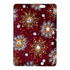 India Traditional Fabric Kindle Fire Hdx 8 9  Hardshell Case