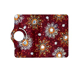 India Traditional Fabric Kindle Fire Hd (2013) Flip 360 Case