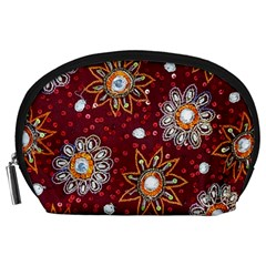 India Traditional Fabric Accessory Pouches (large)