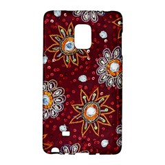 India Traditional Fabric Galaxy Note Edge