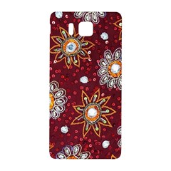 India Traditional Fabric Samsung Galaxy Alpha Hardshell Back Case
