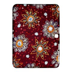India Traditional Fabric Samsung Galaxy Tab 4 (10 1 ) Hardshell Case