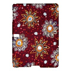 India Traditional Fabric Samsung Galaxy Tab S (10 5 ) Hardshell Case