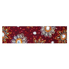 India Traditional Fabric Satin Scarf (oblong)
