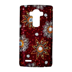 India Traditional Fabric Lg G4 Hardshell Case