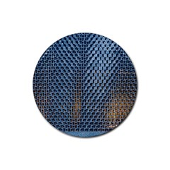 Parametric Wall Pattern Rubber Round Coaster (4 Pack)