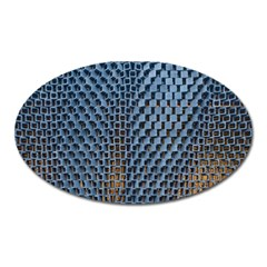 Parametric Wall Pattern Oval Magnet