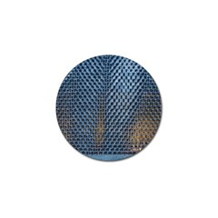 Parametric Wall Pattern Golf Ball Marker