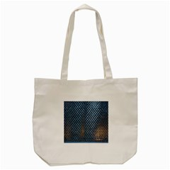 Parametric Wall Pattern Tote Bag (cream)