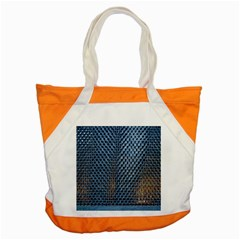 Parametric Wall Pattern Accent Tote Bag