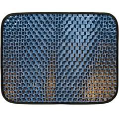 Parametric Wall Pattern Fleece Blanket (Mini)