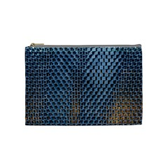 Parametric Wall Pattern Cosmetic Bag (Medium)