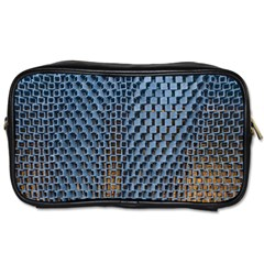 Parametric Wall Pattern Toiletries Bags 2-Side