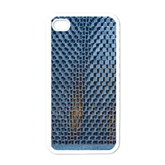Parametric Wall Pattern Apple iPhone 4 Case (White)