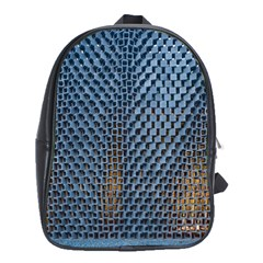 Parametric Wall Pattern School Bags (xl)