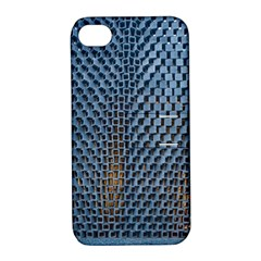 Parametric Wall Pattern Apple Iphone 4/4s Hardshell Case With Stand