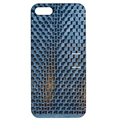 Parametric Wall Pattern Apple Iphone 5 Hardshell Case With Stand
