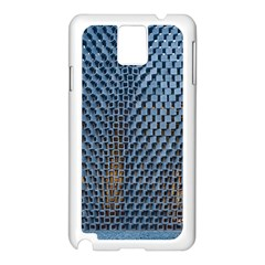 Parametric Wall Pattern Samsung Galaxy Note 3 N9005 Case (white)