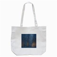 Parametric Wall Pattern Tote Bag (white)