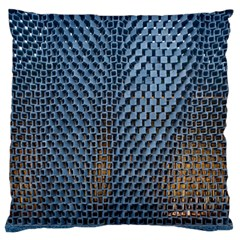 Parametric Wall Pattern Large Flano Cushion Case (One Side)