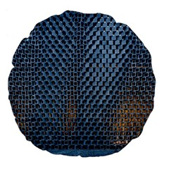 Parametric Wall Pattern Large 18  Premium Flano Round Cushions