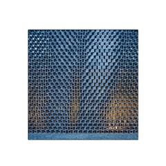 Parametric Wall Pattern Satin Bandana Scarf